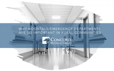 Why Hospitals/Emergency Departments Are so Important in Rural Communities