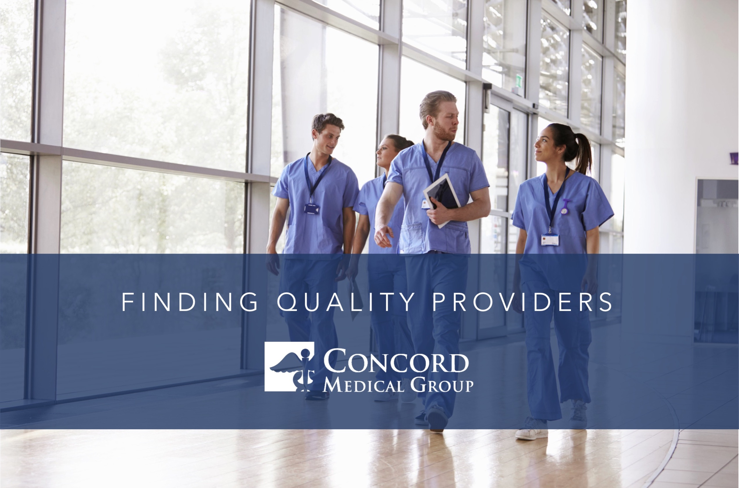 Finding Quality Providers
